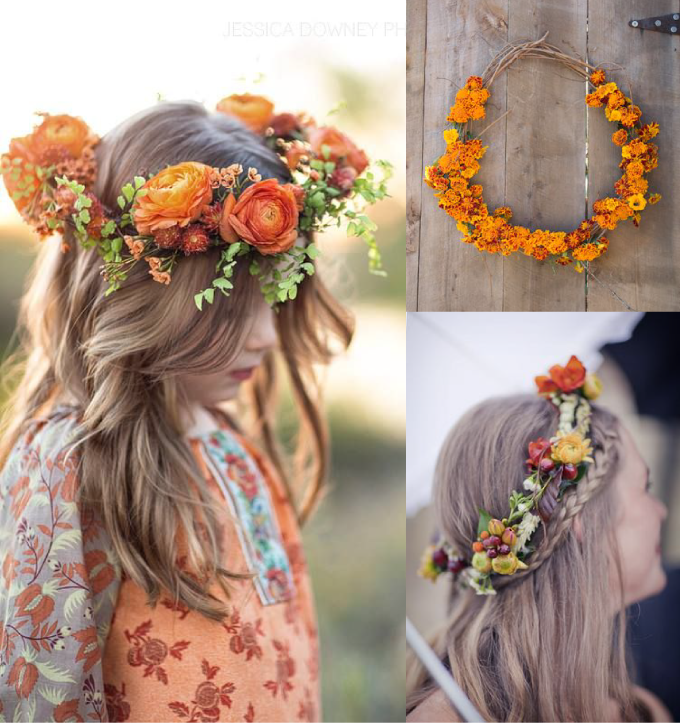 How to throw a flower crown party